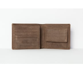 Wallet No 1-5  | Dark-Brown | Artikelnummer: HR-WAL-1-5_db