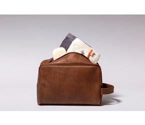 Washbag No 3-1 (L) | Camel | Artikelnummer: HR-WB-3-1