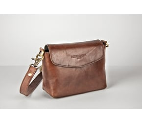 Flap Bag (S) | Maroon-Brown | Artikelnummer: HR-FB-1-1_rb