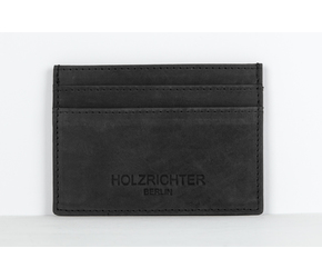 Creditcard Holder No 3-1 | Anthracite-black | Artikelnummer: HR-WAL-3-1_b