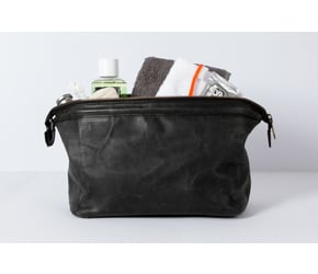Washbag No 5-1 (M) | Anthracite-Black | Artikelnummer: HR-WB-5-1_b