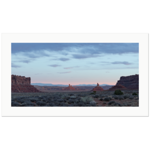 Rooster Butte and Setting Hen Butte | Valley of the Gods, Utah, USA 2018 | Edition Print 32  unlimitiert | Bildnummer: IQ180_181102_036-32