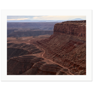 Johns Canyon Road | Muley Point, Bear Ears National Monument, Utah, USA, 2018 | Edition Print 24   unlimitiert | Bildnummer: IQ180_181029_069-24