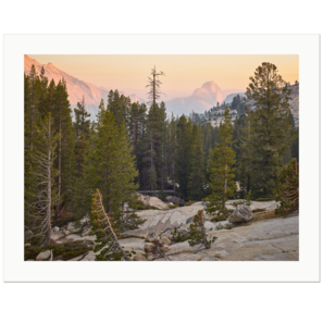 Halfe Dome, seen from a Distance, Tioga Pass Road, Yosemite National Park, California | Edition Print 24   unlimitiert | Bildnummer: IQ180_170702_036-24