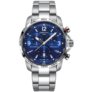 Certina DS Podium Big Size Chrono 1/100 SEC Herrenuhr | C001.647.11.047.00 | Artikelnummer: C1-65