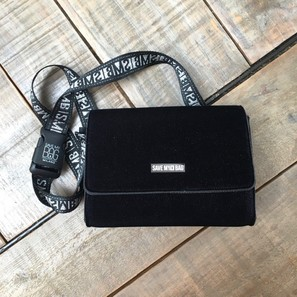 BELT BAG | CROISETTE SAMT | Artikelnummer: SAVE7a