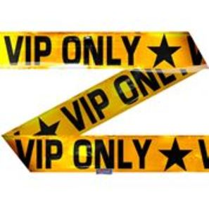 Party Absperrband VIP ONLY |  | Artikelnummer:  8714572225595
