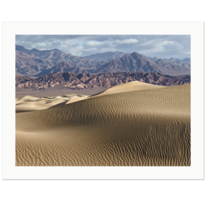 Dunes and Mountains | Death Valley National Park, California, 2015 | Edition Print 24   unlimitiert | Bildnummer: IQ180_151103_008-24