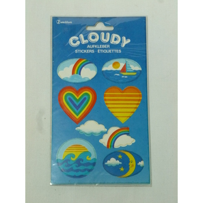 Herzen, Cloudy Sticker | Cloudy Sticker | Artikelnummer: LA161O