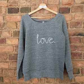 SWEATER | love. | Artikelnummer: SW2A