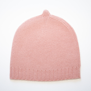 Basic Plain Hat | 100% Cashmere, Colour: Cameo Rose | Code: 0716AH050136XXX