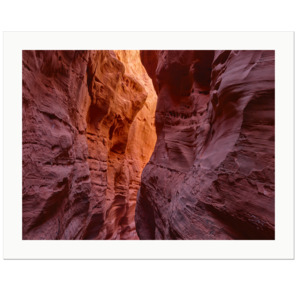 Orange Glow | Little Death Hollow, Grand Staircase Escalante National Monument, Utah, 2015 | Edition Print 24   unlimitiert | Bildnummer: IQ180_150429_070-24