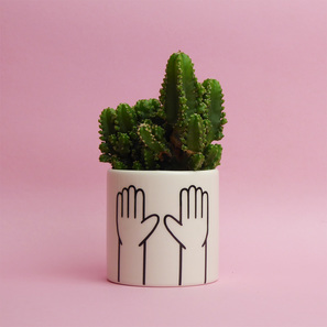 High Ten Mini Pot | Übertopf von Louise Madzia | Artikelnummer: LM-HighTen