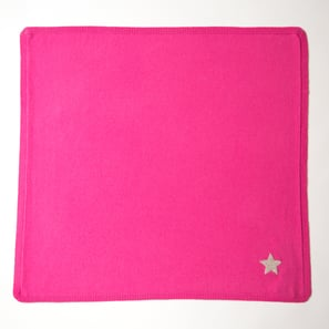 Cashmere Baby Blanket with Star | 100% Cashmere, Colour: Pink | Code: 0715IB010132S