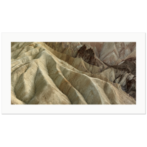 Folds and Pinnacles, Golden Canyon | Death Valley National Park, California, 2015 | Edition Print 32  unlimitiert | Bildnummer: IQ180_151103_100-32