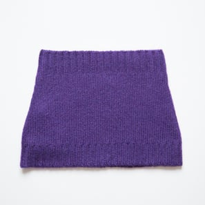 Basic Plain Loop Scarf  | 100% Cashmere, Colour: Lilac | Code: 0716AS050141XXX