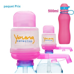 Paquet Special SP  |  2 Pump Young Collection pink plus Viv Bouteile 500ml pink | Artikel-Nummer: 2 YCP plus VIV SP