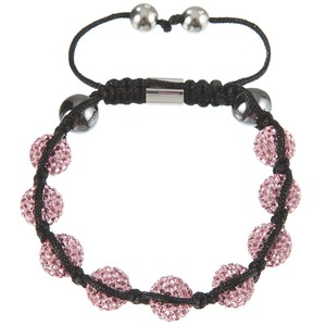 ROSE STAR DIAMOND | Original Hussaya Armband in rosa | Artikelnummer: HS-CS-ROSA