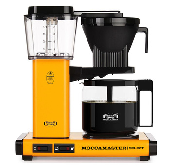 Moccamaster Kaffeemaschine SELECT | Yellow Pepper | Artikelnummer: 8712072539846