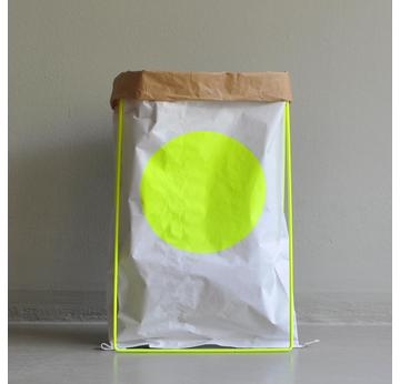 Paper Bag  | Yellow dot | Artikelnummer: 10.08 Y