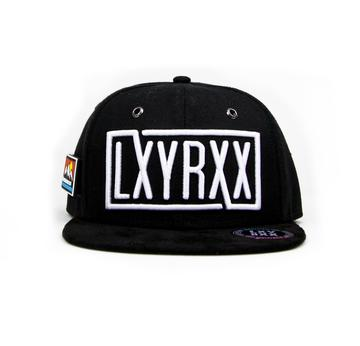 LXYRXX Snapback black/white  | Life is too short for boring Girls | Artikelnummer: Snbkbwbg