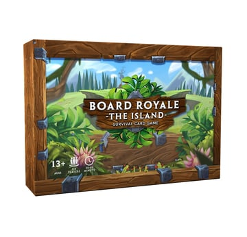 Board Royale - Survival Card Game - Survival Edition | voraussichtlich lieferbar ab Juli 2020! | Artikelnummer: 5320-1457-5880
