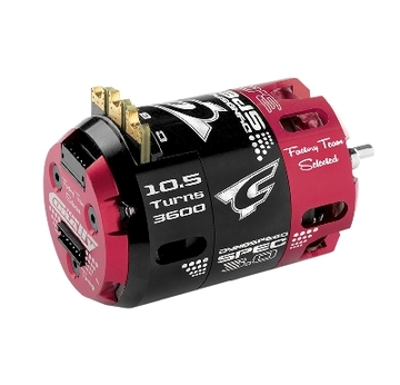 Team Corally - Dynospeed SPEC 3.0 - 1/10 Sensored Wettbewerbs Brushless Motor - Stock - 2-Polig - 10.5 Turns - 3600 KV | 8718057150648 | Artikelnummer: C-61100