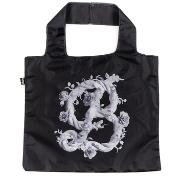 LOQI Bag by Sagmeister & Walsh | B for Beauty | Artikelnummer: Loqi_Sagmeister_Black_e