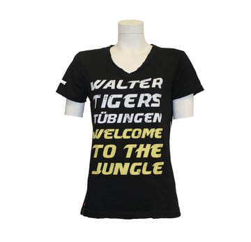 T-Shirt WELCOME TO THE JUNGLE Frauen - Größe XL |  | Artikelnummer: WTT-FA-003-XL
