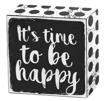 It's time to be happy | Art Box | Artikelnummer: 50-18-019