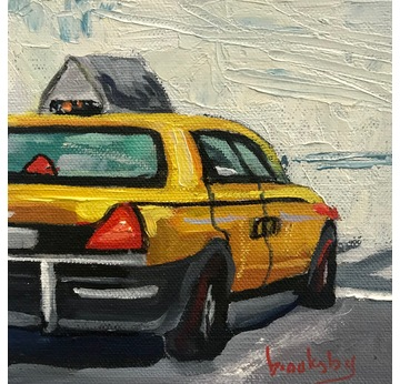 Taxi to nowhere | 13 x 13 cm | Artikelnummer: BROAN8