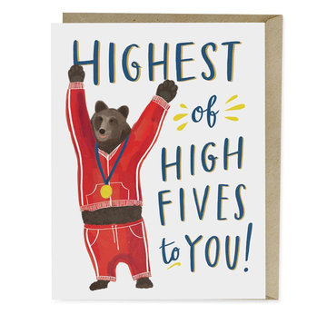 Postkarte Highest Of High Fives, Emily Mc Dowell & Friends | Klappkarte mit Umschlag, 11 x 14cm | Artikelnummer: 9781642440676