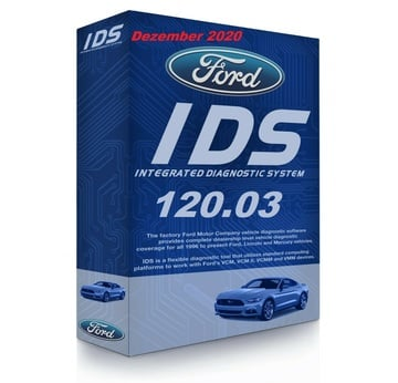 Ford IDS 120.03 + Kalibrierung C 91 Vollversion, Diagnosesoftware, Stand 12.2020 | Alle Windows-Systeme ab Windows 7  (64 bit) | Artikelnummer: 000001183