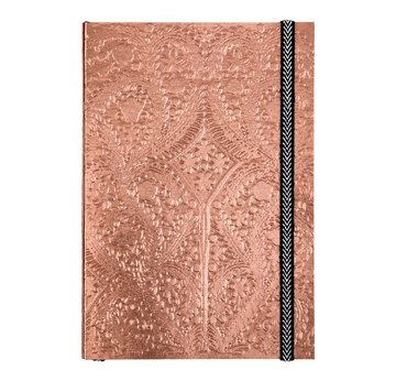 Sunset Copper Embossed Paseo Notebook by Christian Lacroix and Galison | A5 Notizbuch, 152 linierte Seiten, 14,5 x 21cm | Artikelnummer: 9780735360365