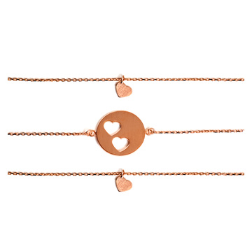 Carry Armband-Set 2 Rose |  | Artikelnummer: 9610411070011