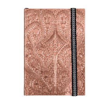 Sunset Copper Embossed Paseo Notebook by Christian Lacroix and Galison | A6 Notizbuch, 152 linierte Seiten, 10,5 x 14,8cm | Artikelnummer: 9780735360372