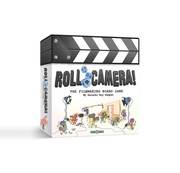 Roll Camera! The Filmmaking Board Game | voraussichtlich lieferbar ab Juni 2021! | Artikelnummer: 203