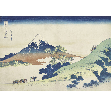 Thirty-six Views of Mount Fuji | Inume mountain Pass in Kai province | Artikelnummer: PODE-KI-10998-A4