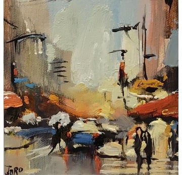 City traffic | 13 x 13 cm | Artikelnummer: KOGEA155