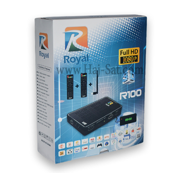Royal Receiver - R100-HD IPTV&Sat Box +12 Months Abonnement |  | Artikelnummer: RRB100