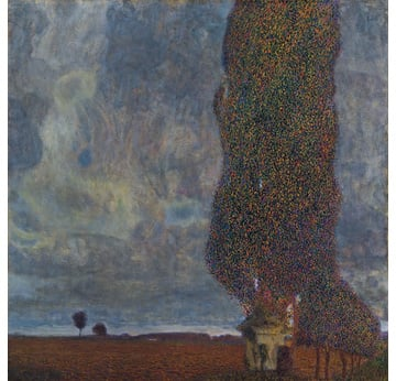 GUSTAV KLIMT: The Great Poplar II | Upcoming Thunderstorm | Artikelnummer: POD-LM-02008-A4E