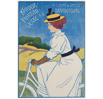 Kondor - Fahrradwerke A.-G. | Advertising Poster around 1910 | Artikelnummer: POD-PI-3384