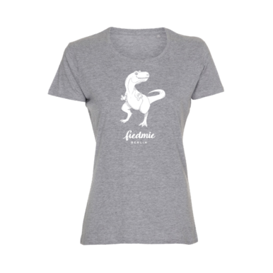 T-Shirt Dinosaurier Damen, XL | fiedmie #0005 LADIES XL | Artikelnummer: TS0005_LADIES_Dinosaurier_XL