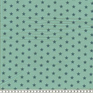 Feincord Babycord Cord Sterne mint petrol |  | Artikelnummer: A-201813354