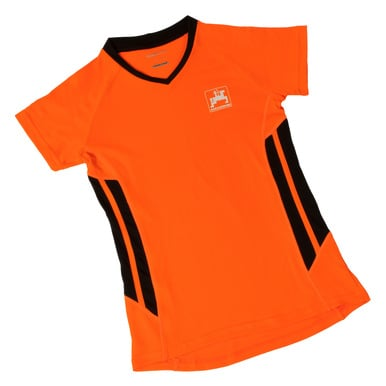 Damen-Sportshirt, orange |  | Artikelnummer: ML420