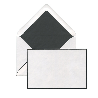 Trauerkuverts / Condolence Envelopes  | 10 Kuverts / 10 envelopes | Artikelnummer: roem