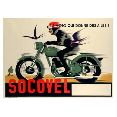 SOCOVEL | Advertising Poster 1930 | Artikelnummer: POD-PI-13368