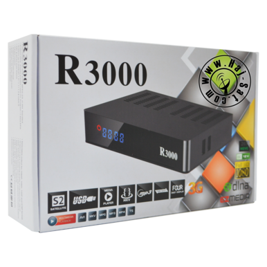 Royal Receiver R3000-HD IPTV&Sat Box +12 Months Abonnement | New 2019 | Artikelnummer: RRB3000