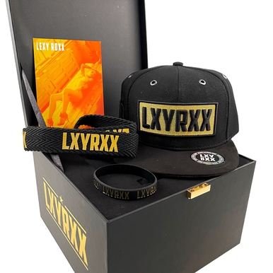 GOLD - Limited Snapback Box | Plus Extras | Artikelnummer: LXY-SBB-GOLD