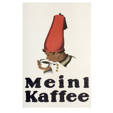 Advertising poster 1924 | Meinl Kaffee | Artikelnummer: PODE-PI-12-A2S
